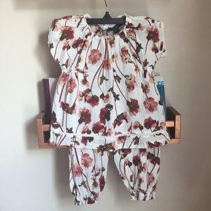 Victoria Beckham for Target floral two piece set
